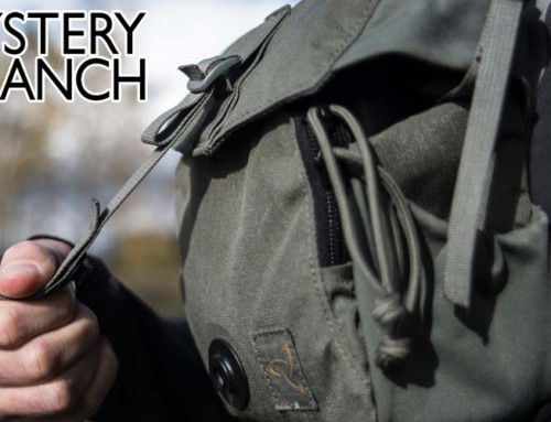 The Quick Draw Bino Harness from MYSTERY RANCH