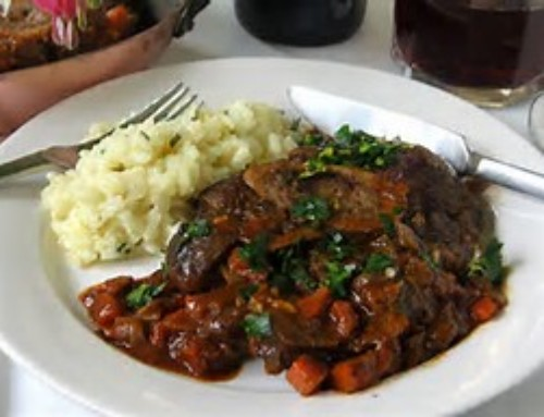 Bison Osso Bucco